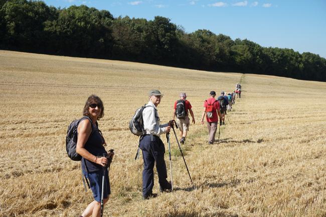 Ramblers on the Wakehurst walk