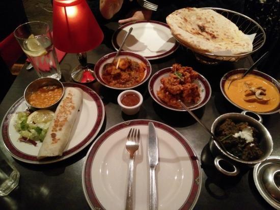 Mother India's Cafe in Edinburgh